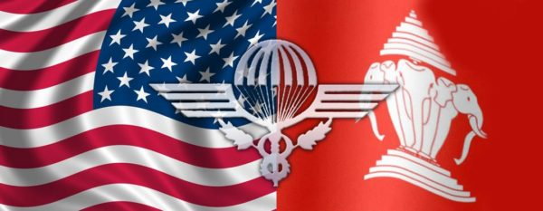 Royal Lao Airborne US Logo